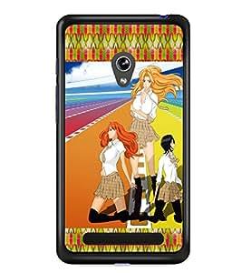 Fuson 2D Printed GirlyDesigner back case cover for Asus Zenfone 5 - D4147