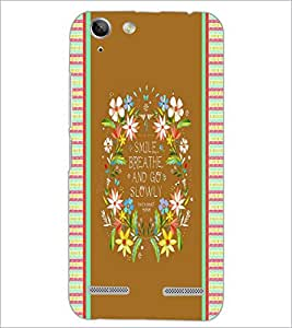 PrintDhaba Quote D-4246 Back Case Cover for LENOVO A6020a46 (Multi-Coloured)
