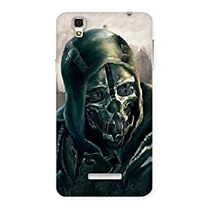 Impressive Deadly Skull Back Case Cover for YU Yureka Plus