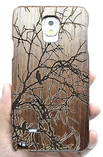 roseflowerr-samsung-galaxy-note-4-funda-de-madera-arbol-de-nuez-natural-hecha-a-mano-de-bambu-madera