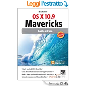 OS X 10.9 Mavericks - Guida all'uso (Digital LifeStyle Pro)