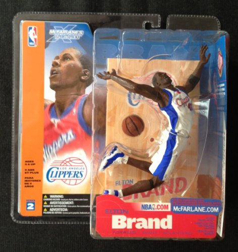 McFarlane Sportspicks: NBA Series 2 Elton Brand (Chase Variant) Action Figure