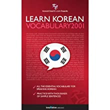 Learn Korean - Word Power 2001 (       UNABRIDGED) by Innovative Language Learning