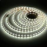 Liqoo® Abkürzbar 5m LED Streifen Strip 230V IP65 Wasserdicht Aussen