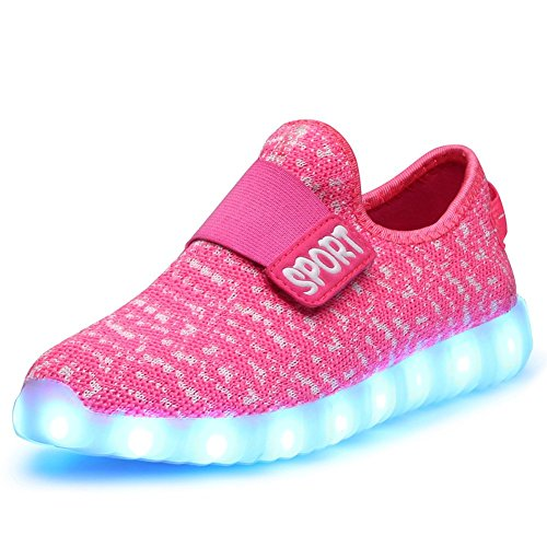 ABOZY Kid LED Fashion Sneaker Light Up Shoes USB Charging LED ...