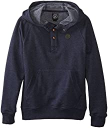 Volcom Big Boys\' Pulli Pullover, Vintage Navy, Small
