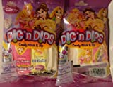 Disney Princess Dig 'N Dips Candy Stick & Dip 4.74 Oz