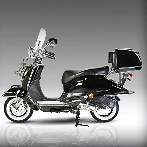 retro roller easy cruiser chrom 25 km h mofa. Black Bedroom Furniture Sets. Home Design Ideas