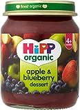Hipp Organic Apple & Blueberry Dessert 4mth+ (125g)