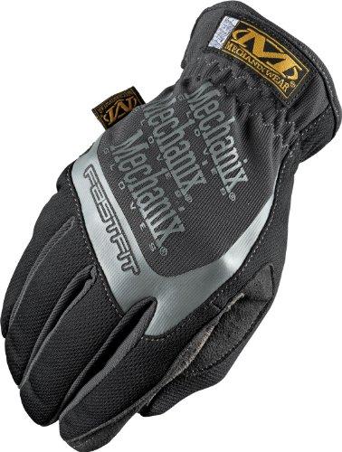 Mechanix Wear MFF-05-010 Fast-Fit Gloves, Black, Large