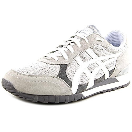 Onitsuka Tiger Colorado Eighty-Five Classic Running Shoe, Soft Grey/White, 7 M US
