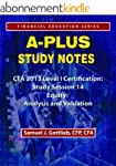 APSN CFA 2013 Level 1 Study Session E...