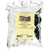 Starwest Botanicals Organic Burdock Root Cut, 1-pound Bags (Pack of 2)