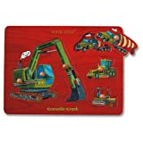 Crocodile Creek Construction Site Wooden Puzzle