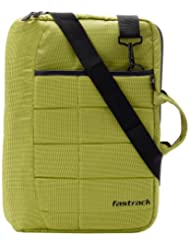 Fastrack Polyester Green Messenger Bag (A0329NGR01)