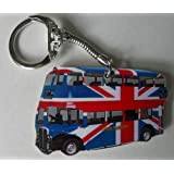 Union Jack London Bus Keyring - LS12K