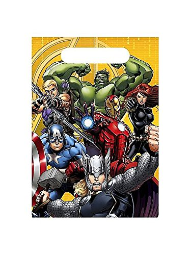 Avengers Assemble Favor Bags Loot Bags (8 per package) - 1
