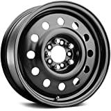 Pacer Black Modular 17 Black Wheel / Rim 5x4.25 & 5x4.5 with a 35mm Offset and a 72 Hub Bore. Partnumber 83B-7714