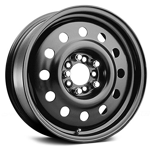 Pacer Black Modular 17 Black Wheel / Rim 5x4.25 & 5x4.5 with a 35mm Offset and a 72 Hub Bore. Partnumber 83B-7714 (2009 Mustang Rims compare prices)