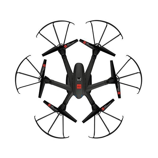 UTO-Drone-U960-Hexacopter-with-Camera-Ready-FPV-Helicopter-Quadcopter-Quad-Copter-Toys-Black