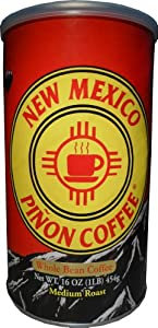 NM Piñon Coffee Regular Whole Bean 16oz.