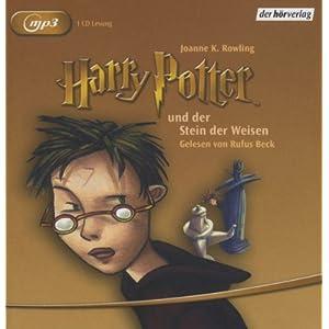 eBook Cover für  Harry Potter und der Stein der Weisen Gelesen von Rufus Beck