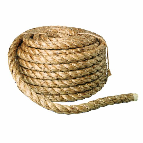 Bon 14-258 50-Feet by 5/8-Inch Diameter Heavy Duty Manila Rope