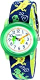 Timex Kids' T72881 Lizards Watch with Multi-Colored Fabric Band