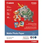 Canon Matte Photo Paper, 8.5 x 11 Inc...