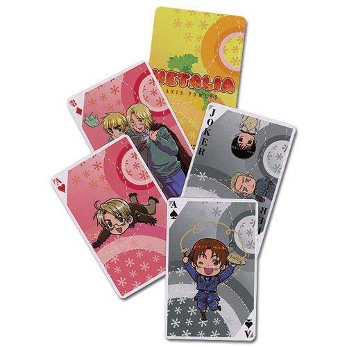 Hetalia Axis Powers Poker Playing Cards