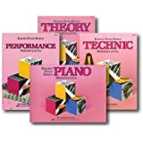Bastien Piano Basics Primer Level - Learn to Play Four Book Set - Includes Primer Level Piano, Theory, Technic, and Performance Books