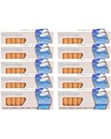 Recharges cigarette Electronique - Tabac saveur - 10 boites de 10 cartouches (100 unitEs) by e-Gemini - Sans nicotine ni tabac