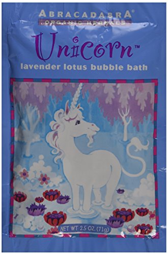 Abra Therapeutics Abracadabra Organic Herbals Bubble Bath Unicorn Lotus Lavender -- 2.5 oz - 1