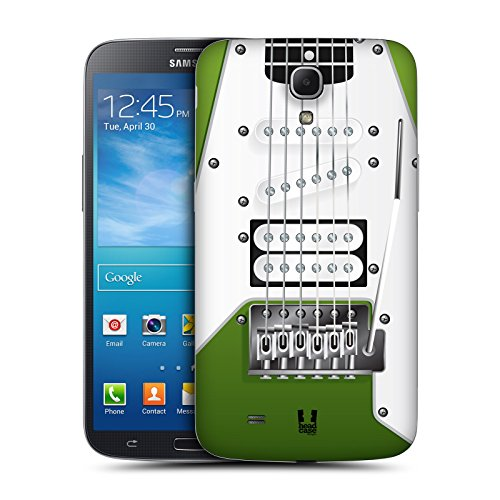 Head Case Designs Apple Green Electric Guitar Replacement Battery Back Cover For Samsung Galaxy Mega 6.3 I9200 I9205
