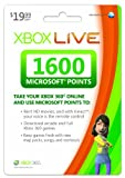 Image of Xbox LIVE 1600 Microsoft Points [Online Game Code]