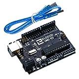 Elegoo UNO R3 Board ATmega328P ATMEGA16U2 with USB Cable...