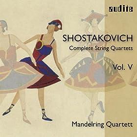 String Quartet No. 11 in F minor, Op. 122: Elegie. Adagio -