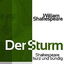 Der Sturm (Shakespeare kurz und bündig) Hörbuch von William Shakespeare Gesprochen von: Jürgen Fritsche