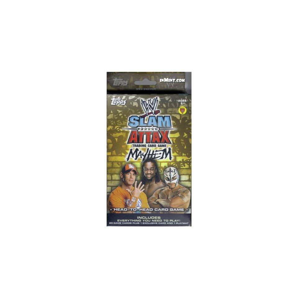 Topps WWE Slam Attax Wrestling Trading Card Game Mayhem