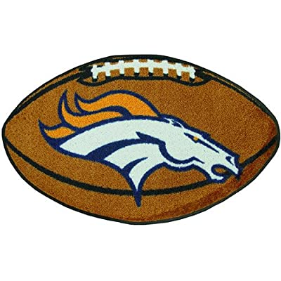 Fanmats Denver Broncos Team Football Mat