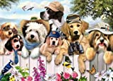 King Outdoor Guys by Howard Robinson 1000 piece dogs jigsaw puzzle