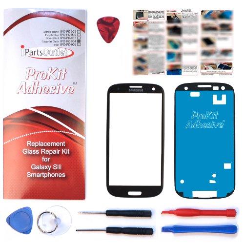 S3 Prokit Adhesive Kit For Screen Glass Lens Repair Kit Black For I9300 I747 T999 S3 Prokit Adhesive