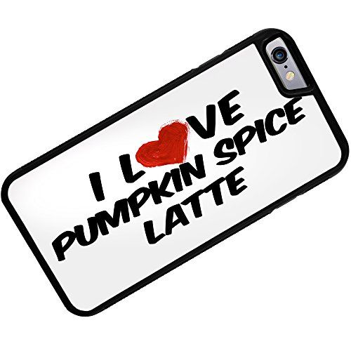 Rubber Case For Iphone 6 Plus I Love Pumpkin Spice Latte Coffee - Neonblond
