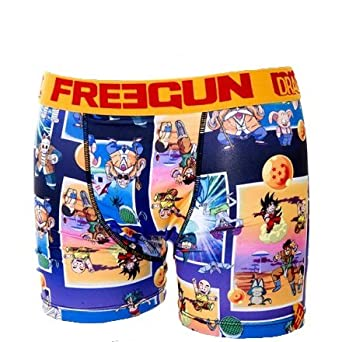 Freegun - Sous-vêtement homme -Freegun boxer homme premium DBZ - BABA (S)