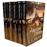 L J Smith The Vampire Diaries Story Collection L J Smith 7 Books Set TV Tie Edition (ITV 2 TV Series) (The Awakening, The Struggle, The Fury, The Reunion, Nightfall, Shadow Souls, Midnight) (The Vampire Diaries Collection)
