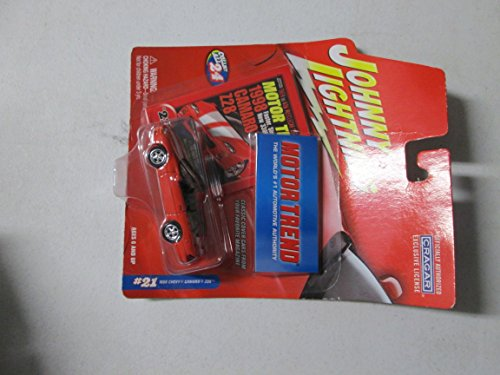 Johnny Lightning Motor Trend 1998 Chevy Camaro Z28 1/64 Red