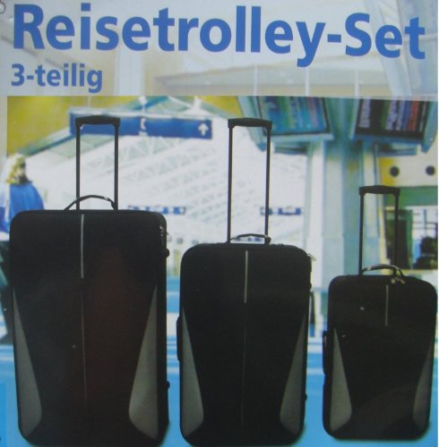 Kofferset Reisekoffer Tasche Trolleyset 3tlg