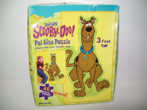 Picture of Pressman Cartoon Network Scooby-Doo! Pal Size Puzzle (B002FSSXFO) (Floor Puzzles)