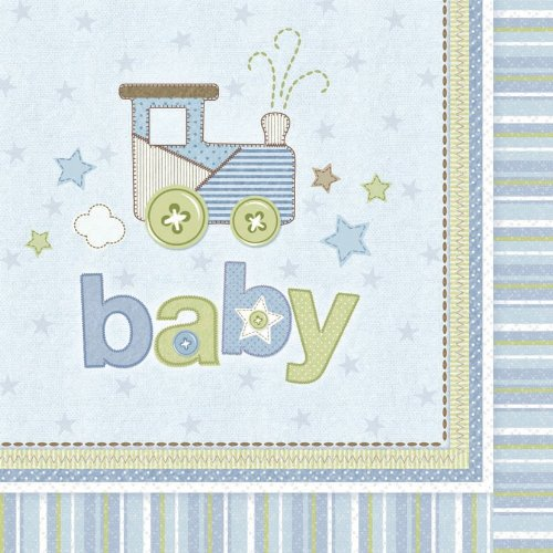 Carter's Baby Boy Lunch Napkins (16 count) - 1