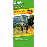 Wanderkarte Rhön - Wasserkuppe - Rother Kuppe: mit Ausflugszielen, Einkehr- & Freizeittipps, wetterfest, reissfest, abwischbar, GPS-genau. 1:25000